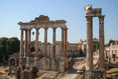 Fóruns romanos Foto de Stock Royalty Free