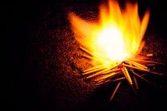 Fósforo ardente Imagem de Stock