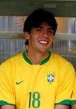Fósforo de futebol amigável Brasil contra Argélia Fotografia de Stock