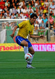 Fósforo de futebol amigável Brasil contra Argélia Foto de Stock