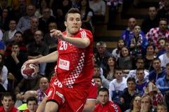 Fósforo do handball Fotografia de Stock Royalty Free