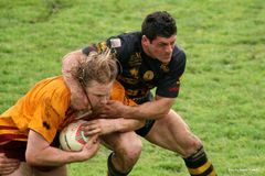 Fósforo do rugby Fotografia de Stock