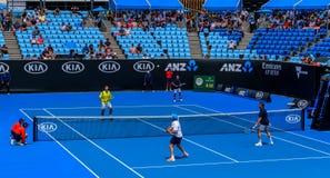 Fósforo do tênis das legendas dos homens, 2019 aberto australiano fotos de stock