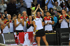 Fósforo do tênis das mulheres Foto de Stock