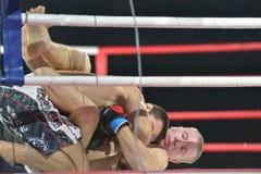 Fósforo em artes marciais misturadas Fotografia de Stock