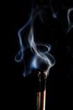 Fósforo inflamado e fósforo purgado Fotografia de Stock