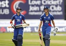 Fósforo internacional do grilo do T20 das mulheres das Índias Ocidentais de Inglaterra v Fotos de Stock