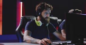 Fósforo perdedor da equipe do competiam do jogo video estoque