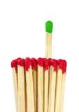 Fósforos - conceito da liderança Foto de Stock Royalty Free