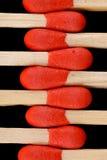 Fósforos de madeira Imagem de Stock Royalty Free