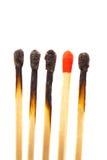 Fósforos diferentes Foto de Stock