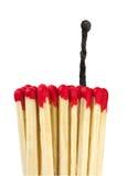 Fósforos - liderança ou conceito da inspiração Imagem de Stock Royalty Free
