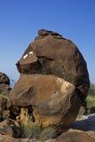 Fósiles antiguos en Kutch, Imagen de archivo libre de regalías