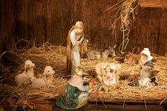 födda jesus Royaltyfri Fotografi