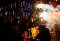 109. födelseårsdag av Stepan Bandera i Kyiv Arkivbilder
