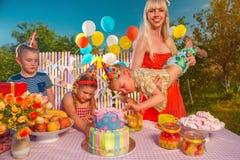 Födelsedag Royaltyfria Bilder