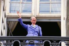 FÖDELSEDAG FÖR HM GÖRA TILL DROTTNING MARGRETHE II Royaltyfri Foto