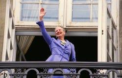 FÖDELSEDAG FÖR HM GÖRA TILL DROTTNING MARGRETHE II Royaltyfri Bild