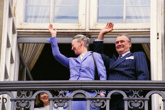 FÖDELSEDAG FÖR HM GÖRA TILL DROTTNING MARGRETHE II Royaltyfria Bilder