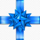 Födelsedag för mall för design för vektor för gåvapilbågeband, för julgåvor för nytt år garnering vektor illustrationer