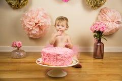 födelsedag först Royaltyfria Foton