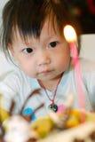 födelsedagbarndeltagare Arkivfoton