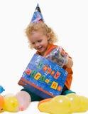 födelsedagbarndeltagare s arkivbilder