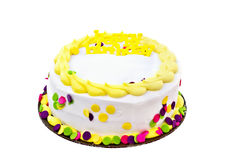 födelsedagcake Royaltyfria Bilder