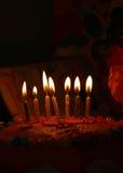 födelsedagcake royaltyfri bild
