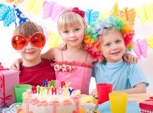 födelsedagdeltagare Royaltyfria Bilder