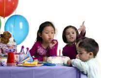 födelsedagdeltagare Arkivbild