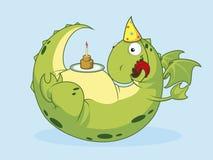födelsedagdrake Royaltyfri Fotografi