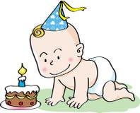 Födelsedagen behandla som ett barn Royaltyfri Foto