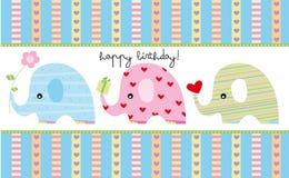 födelsedagkort Royaltyfria Foton