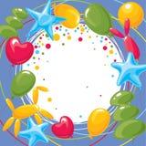 födelsedagkort Royaltyfri Foto