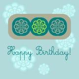 födelsedagkort Royaltyfri Bild