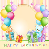 Födelsedagkort Royaltyfria Bilder