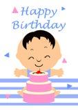 födelsedagkort vektor illustrationer