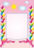födelsedaglyckönskan Fotografering för Bildbyråer