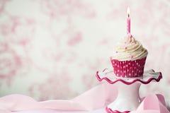 födelsedagmuffin Royaltyfri Fotografi