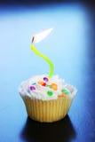 Födelsedagmuffin Arkivfoton