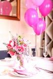 Födelsedagparti Fotografering för Bildbyråer