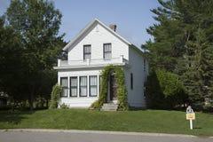 Födelseort av filmaktrins Judy Garland i Grand Rapids, Minneso Royaltyfria Bilder