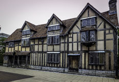 Födelseorten av William Shakespeare royaltyfri bild