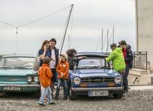 Följ din passion - Retro regatta 2016, Balchik arkivfoton