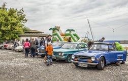 Följ din passion - Retro regatta 2016, Balchik arkivbilder