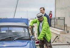 Följ din passion - Retro regatta 2016, Balchik royaltyfria bilder