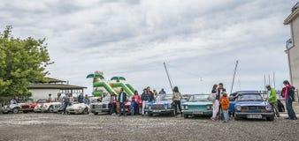 Följ din passion - Retro regatta 2016, Balchik fotografering för bildbyråer