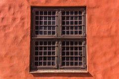 Fönster av den Malmo slotten Royaltyfri Foto