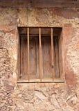 Fönster av en forntida byggnad Royaltyfri Foto